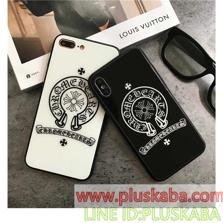 chrome hearts iphone x/xs ケース おしゃれ
