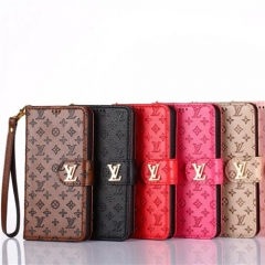 LV iPhone 11/11 Pro/11 Pro Max 手帳型ケースルイヴィトン Louis Vuitton IPhone XS Max iPhone XR iPhone X iPhone XS i革 レザー カバー アイフォン8/7プラス 財布型 カバー case 小銭入れ カード収納